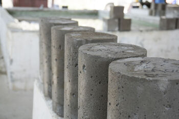 immobilization of waste in cement