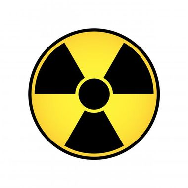 old radiation symbol